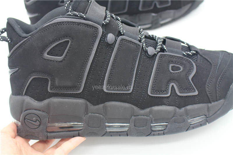 Authentic Nike Air More Uptempo All Black