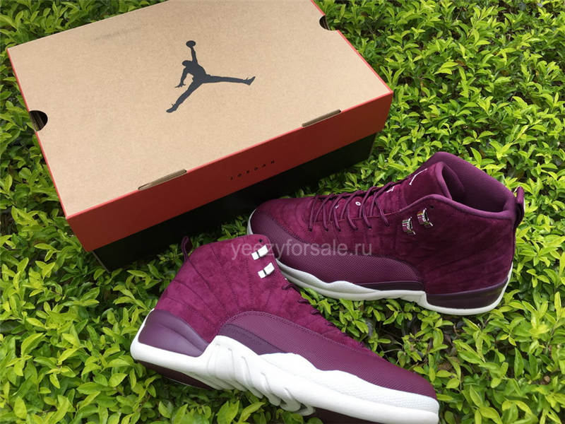 Authentic Air Jordan 12 Bordeaux