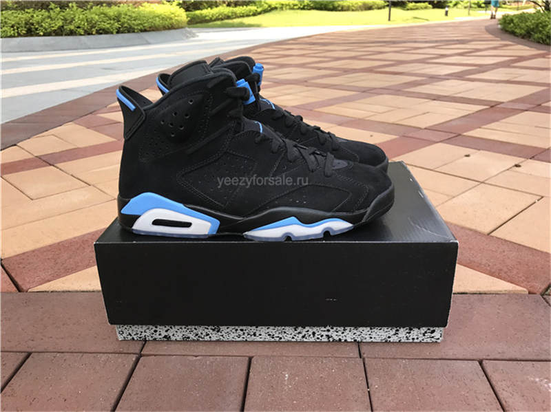Authentic Air Jordan 6 University Blue