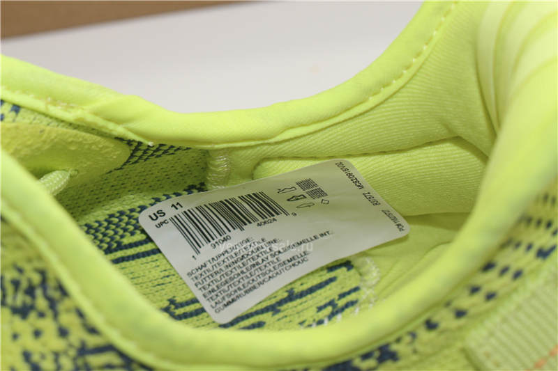 Updated Version Authentic Yeezy Boost 350 v2 Semi Frozen Yellow B37572